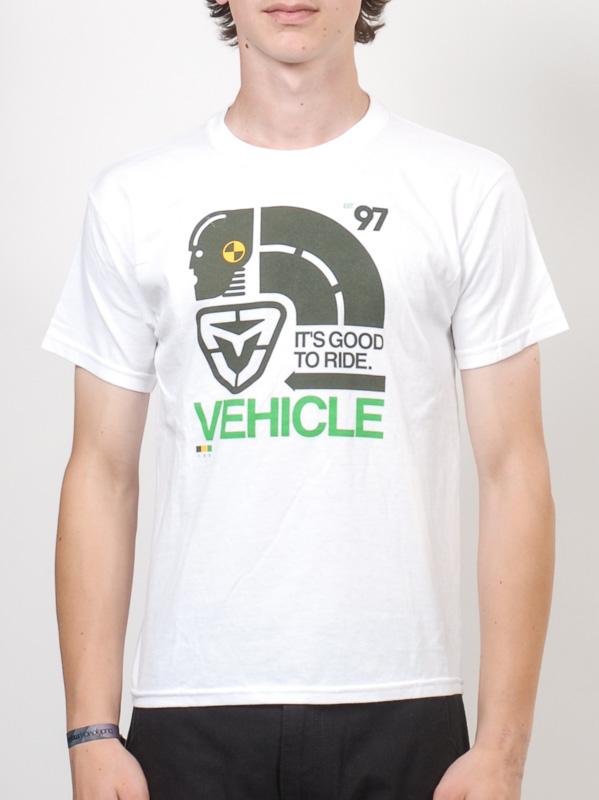 Vehicle Triko Crashtest White - Yl bílá