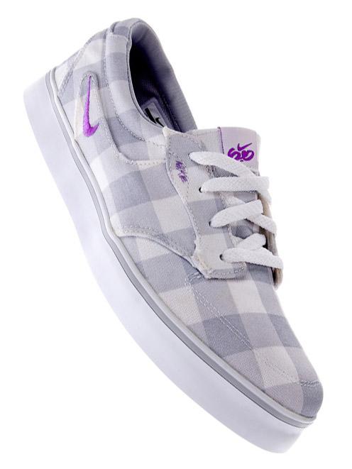 Nike 6.0 Boty Braata Wolf Grey/lt Brt Violet - 6usw šedá