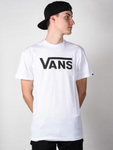VANS triko CLASSIC White/Black