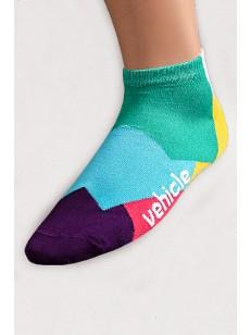 VEHICLE ponožky BLOCK YELLOW