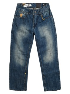 VEHICLE jeans dětské CLUSTER BLUE TINTED WASH A