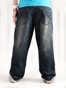VEHICLE kalhoty LISA BLUE TINTED WASH A