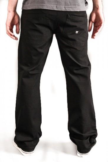 VEHICLE kalhoty JET BLACK
