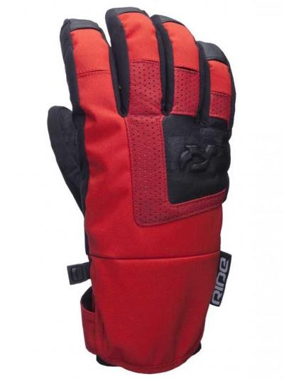 RIDE rukavice STELLAR POPPY RED