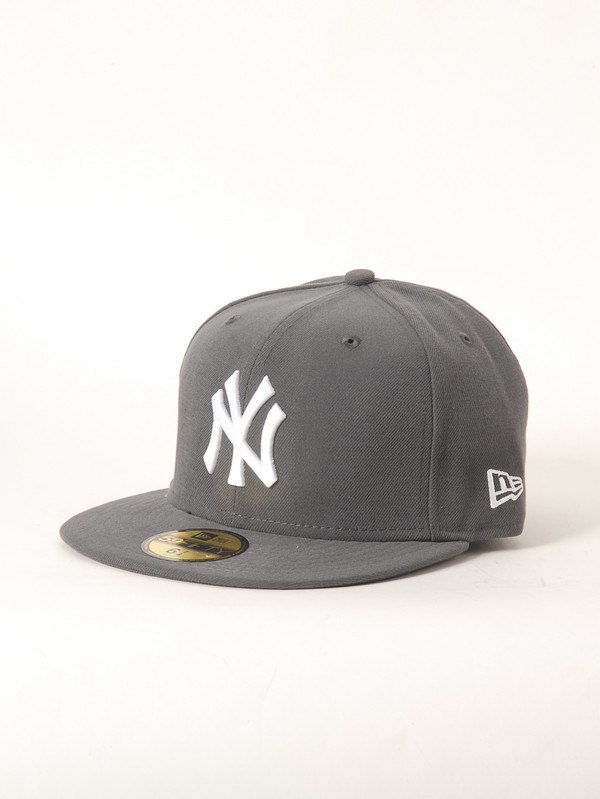 New Era Kšiltovka Ne Mlb Basic Graphite/white - 7 1/ šedá