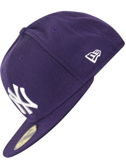New Era Kšiltovka Mlb Basic Purple/white - 7 fialová