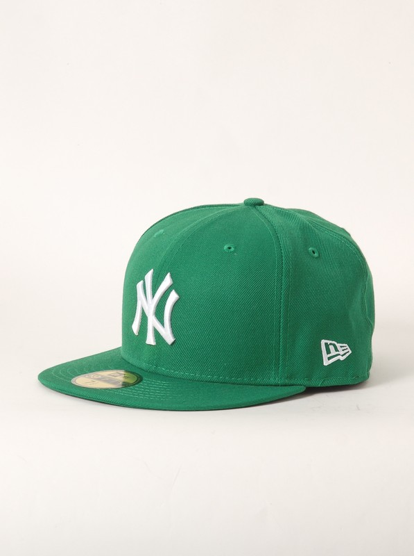 New Era Kšiltovka Mlb Basic Green/white - 7 1/2 zelená