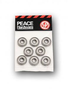PEACE sada lo�iska ABEC 5 GRY