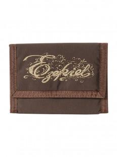 EZEKIEL peněženka VELCRO CHOCOLATE