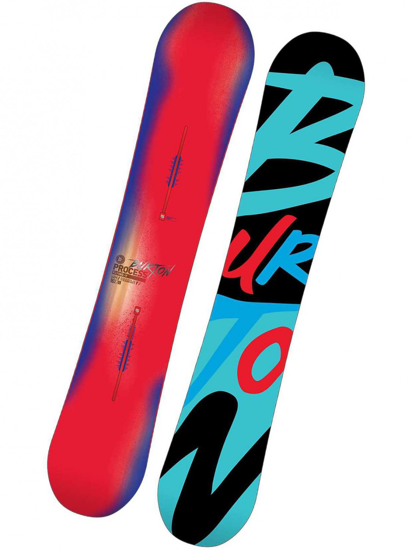 Burton Snowboard Process Fv Brw/red 157 hnědá
