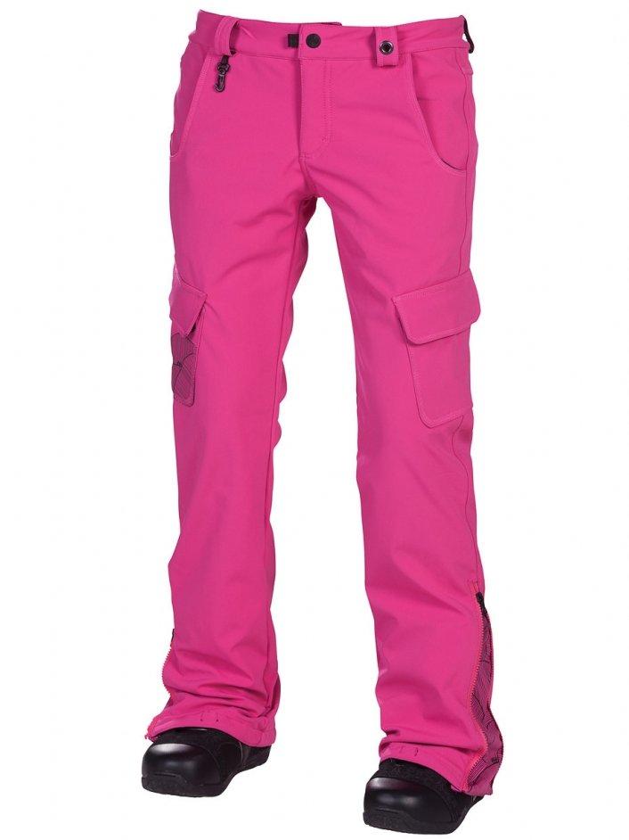 686 Kalhoty Reserved Crown Pin - M růžová