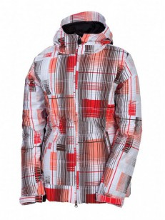 686 bunda MANNUAL ECHO INS. Coral Plaid
