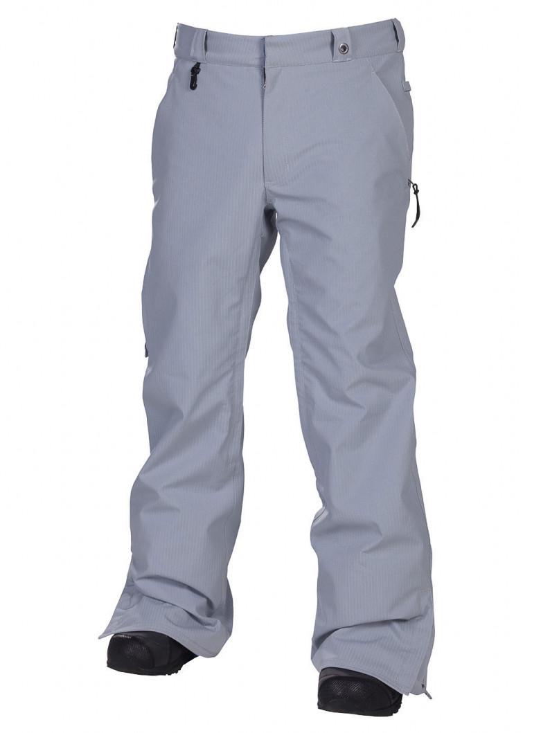 686 Kalhoty Times Dickies Work Grey - L bílá