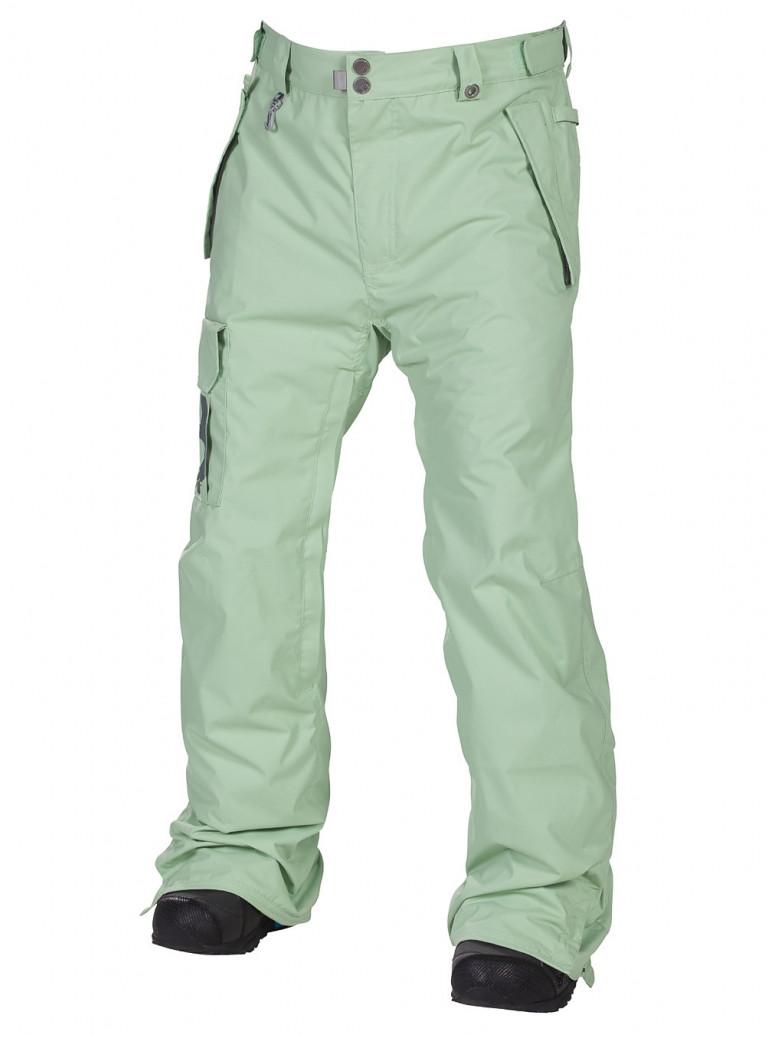 686 Kalhoty Mannual Data Mint - L zelená