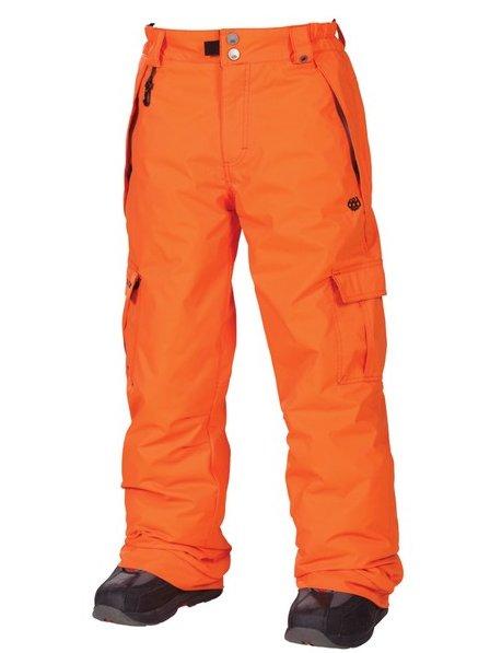 686 Kalhoty Mannual Ringe Insula Orange - L oranžová