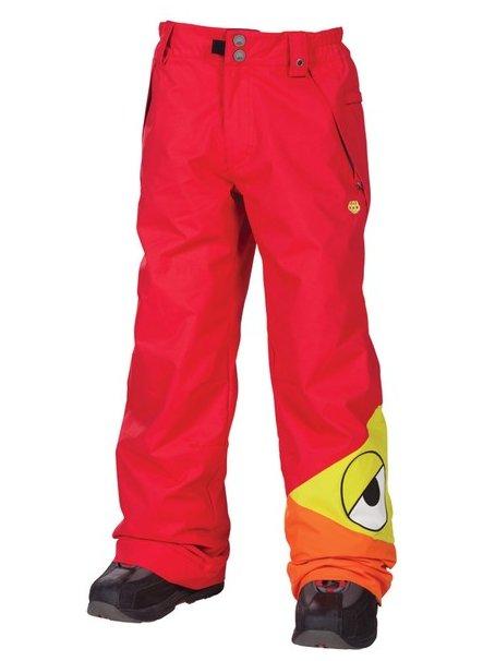 686 Kalhoty Snaggleface Insulate Red - L červená