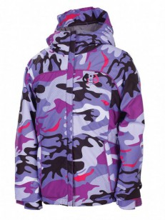 686 bunda COURTNEY INSULATED Violet Camo Reef