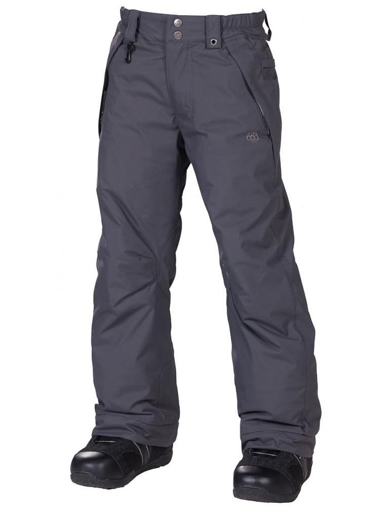 686 Kalhoty Mannual Brandy Insul Gunmetal - M šedá