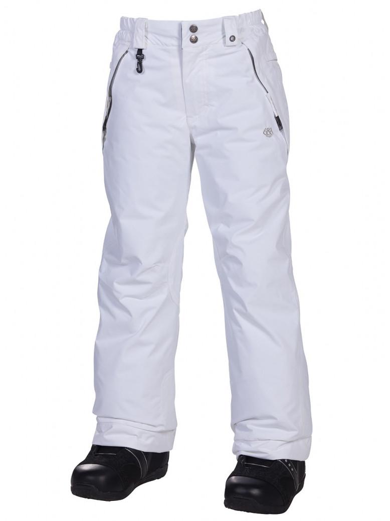 686 Kalhoty Mannual Brandy Insul White - M bílá