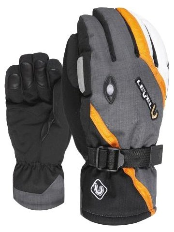LEVEL rukavice EXPLORER Black-Grey