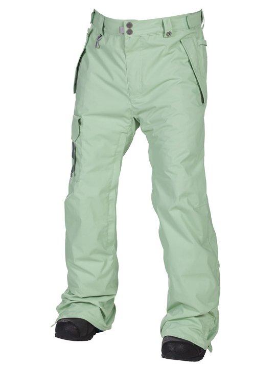 686 Kalhoty Data Mint - L zelená