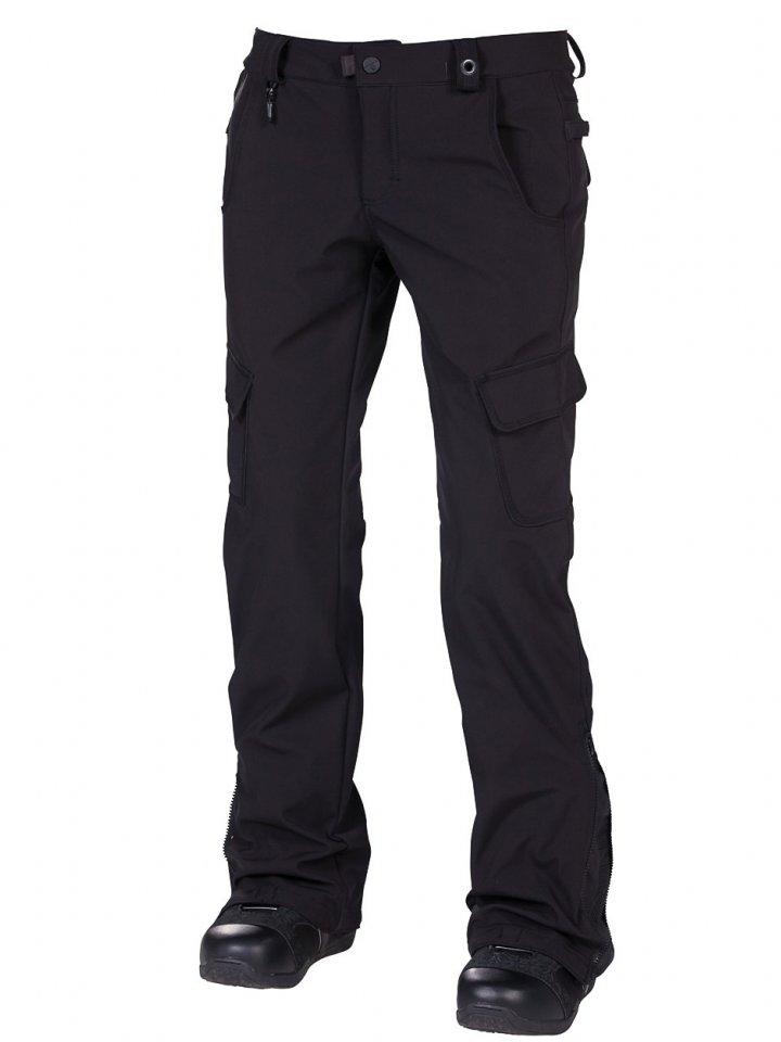 686 Kalhoty Reserved Crown Blk - L černá