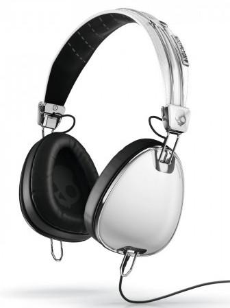 Skullcandy Sluchátka Aviator White W/mic3 bílá