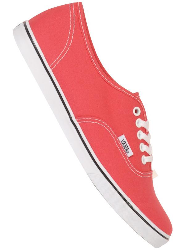 Vans Boty Authentic Lo Pro Paradise Pink/t - 11usw červená