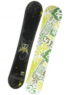 5150 snowboard SHIFTER BLK/GRN 154