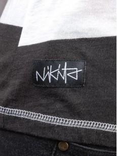 NIKITA tílko CONTRA WHITE/BLACK