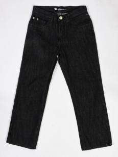 ETNIES jeans dětské STRAIGHT BLACK