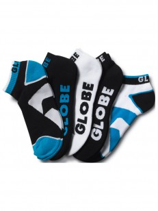 GLOBE ponožky DESTROYER 5 PACK ANKLE Black