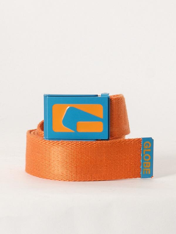 Globe Pásek Jimmy Orange oranžová