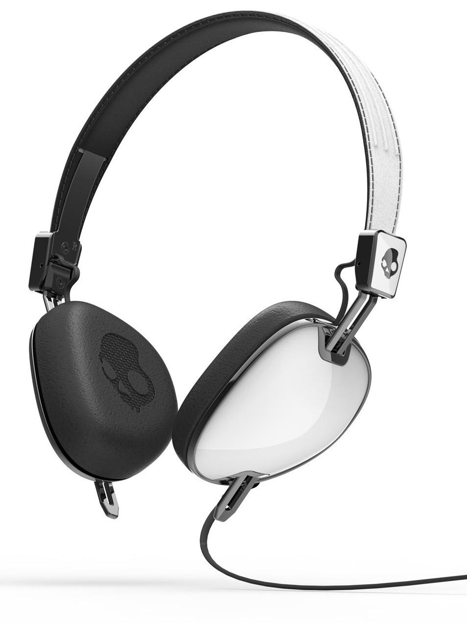 Skullcandy Sluchátka Navigator White/black W/mic3 bílá