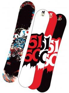 5150 snowboard NOMAD BLK 155