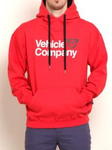 VEHICLE mikina COMPANY RED