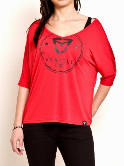 VEHICLE triko TENDER RED