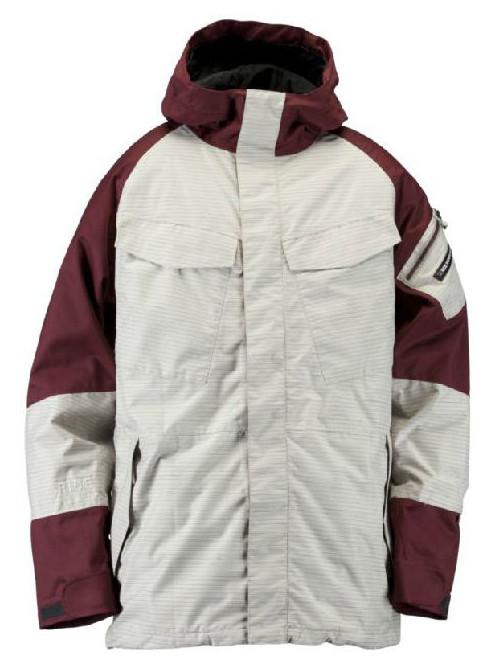 Ride Bunda Delridge Shell 1435 Birch - M bílá