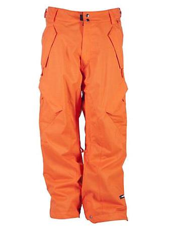 Cappel Kalhoty Phinney Ins. Dark/orange/her - L oranžová