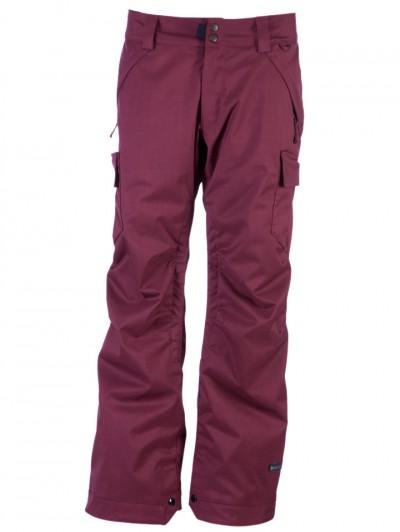 CAPPEL kalhoty BEACON INS. 8335 MAROON/TWILL