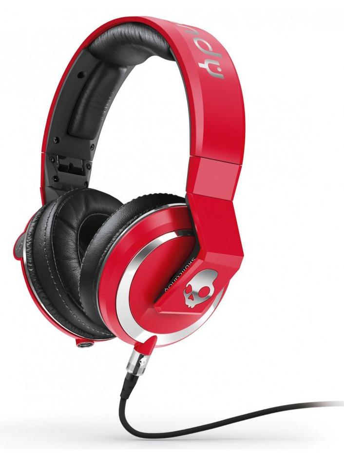 Skullcandy Sluchátka Mix Master Dj Red červená