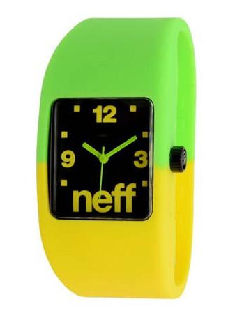 Neff Hodinky Bandit Lemon/lime - S/m zelená