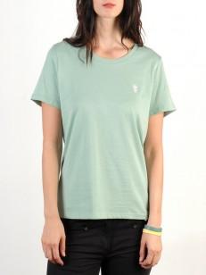 WESC tričko MONIKA Granite Green
