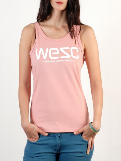 WESC tílko WESC rose blush