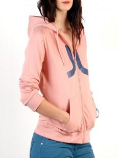 WESC mikina ICON rose blush
