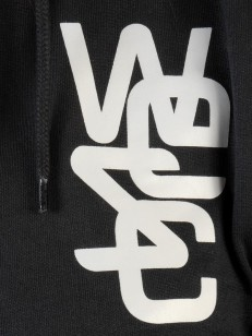 WESC mikina OVERLAY black