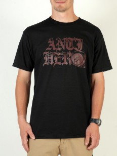 ANTIHERO triko OLD CAN HERO BLK/RED