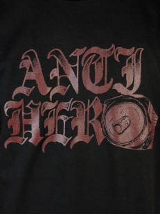 ANTIHERO triko OLD CAN HERO BLK/RED