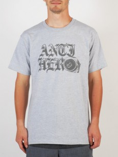 ANTIHERO triko OLD CAN HERO HTR/GRY