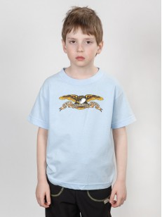 ANTIHERO triko EAGLE BBY BLUE TDDLR